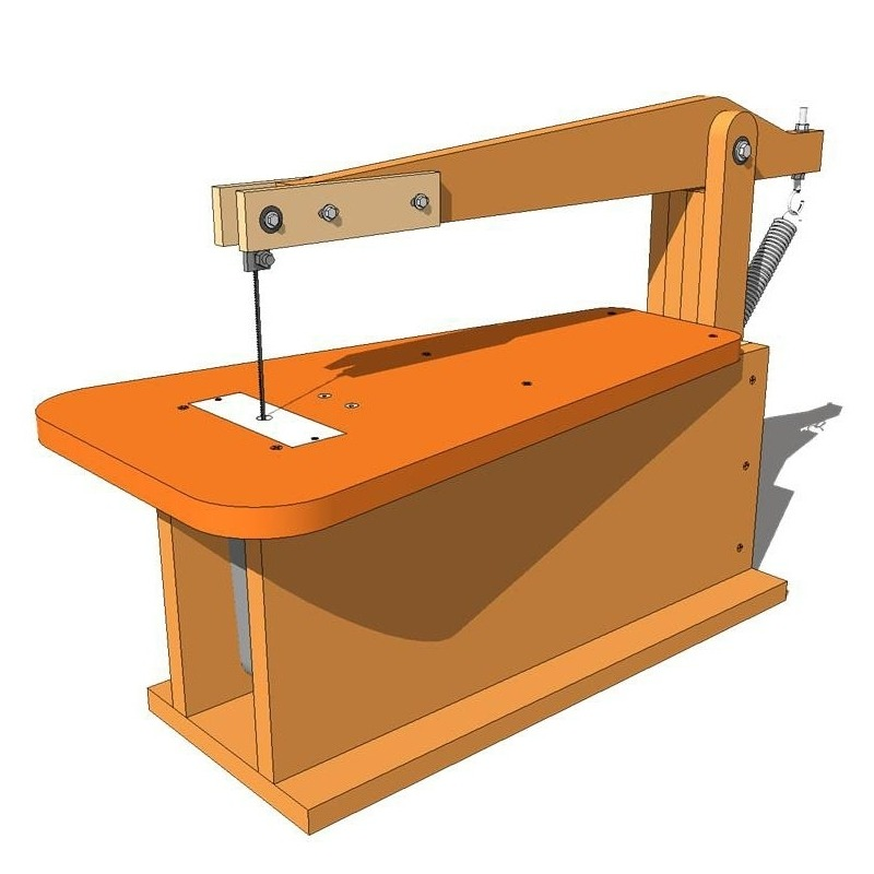 ... Homemade Scroll Saw Jigsaw moreover Homemade Scroll Saw Plans also